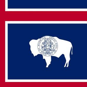 Wyoming Flag Large