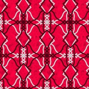 Mirrored Motif (Cherry)