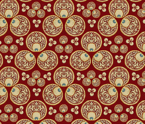 chintamani fabric by wanderingaloud on Spoonflower - custom fabric