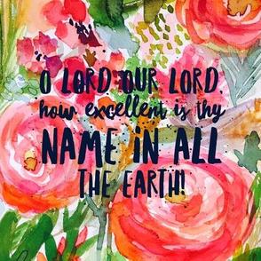 Psalm 8 (Verse)