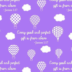 James 1:17 // Purple