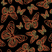 Electric Butterflies - Large