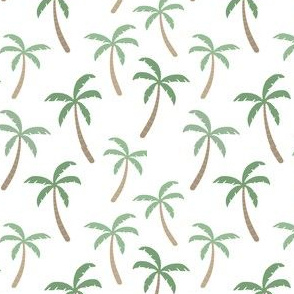 Palm trees // jungle hawaii print plant trees