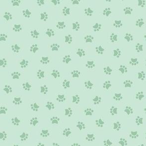 Zuko & Friends - Pawprints Mint