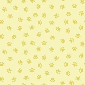 Zuko & Friends - Pawprints Yellow