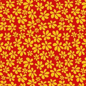 YellowGrass Petals w/Red