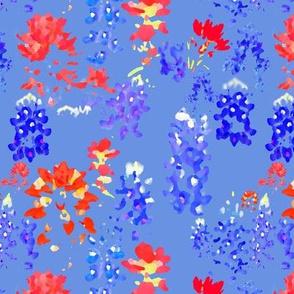 Indian Paintbrush & Bluebonnets