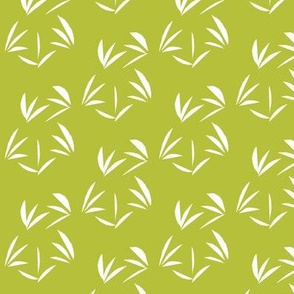 Snowy White Oriental Tussocks on Celery Juice