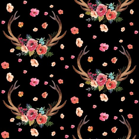 Rfloral_deer_garden_black_shop_preview