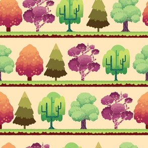 neat forest line up