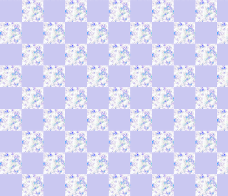 Blender Blue   2 inch Check fabric by koalalady on Spoonflower - custom fabric