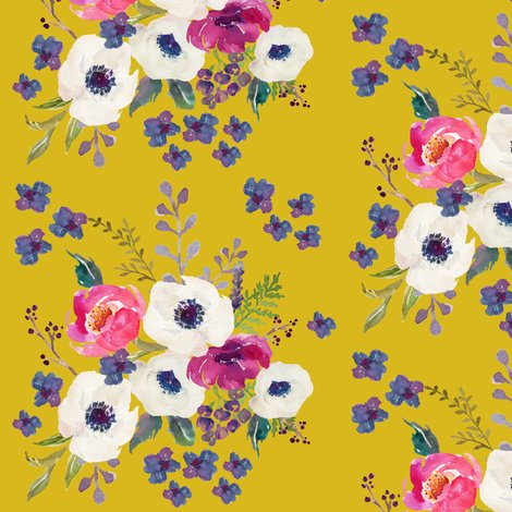 "."" boho purple floral print  mustard color fabric  shopcabin, Natural flower"