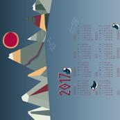 Northern Sea 2017 Calendar