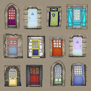 fairy tale cottage_doors