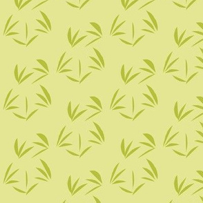 Celery Juice Oriental Tussocks on Green Ginger - Medium Scale