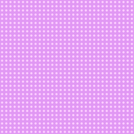 White dots on lilac fabric by susiprint on Spoonflower - custom fabric