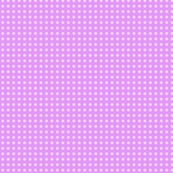 White dots on lilac