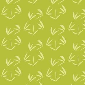 Green Ginger Oriental Tussocks on Celery Juice -