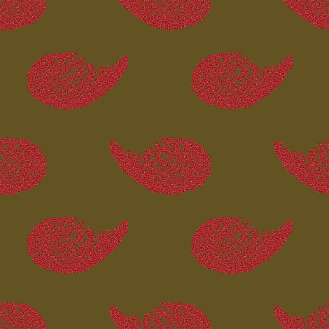 Painted Goose Swoosh fabric by anniedeb on Spoonflower - custom fabric