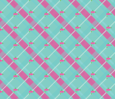 Pretty in Teal fabric by kimberlyk on Spoonflower - custom fabric