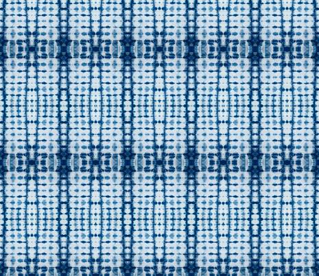 Shibori Indigo 1 fabric by kelly_korver on Spoonflower - custom fabric