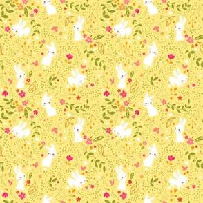 Spring Bunnies- Smaller Print