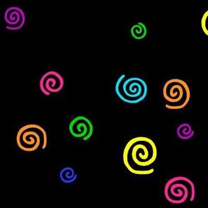 Spunky Spirals Large