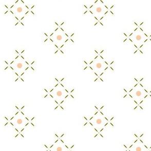 Peach_Geometric_Leaf