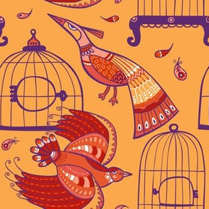 Fairytale birds