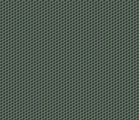 Charcoal Hop Dots on Dark Green fabric by a_bushel_of_hops on Spoonflower - custom fabric