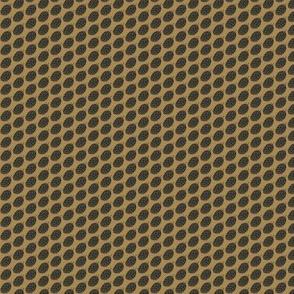 Charcoal Hop Spots on Mustard