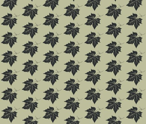 Rra_new_look_hop_leaf_charcoal_stencil_on_pale_green_shop_preview