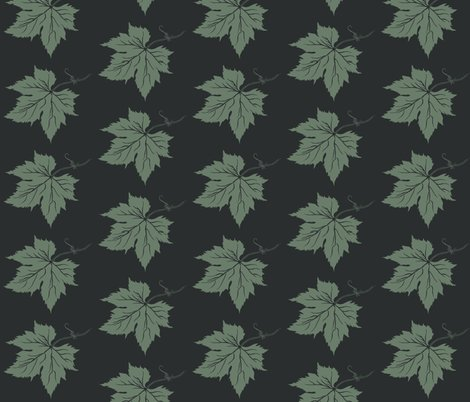Ra_new_look_hop_leaf_dk_green_stencil_on_charcoal_shop_preview