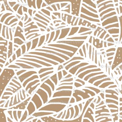 Coffee Leaves Batik 300
