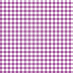 Mini Gingham Grape