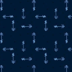 Mod Blue Arrows
