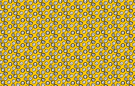Taxi Cab fabric by j_e_c_scott on Spoonflower - custom fabric