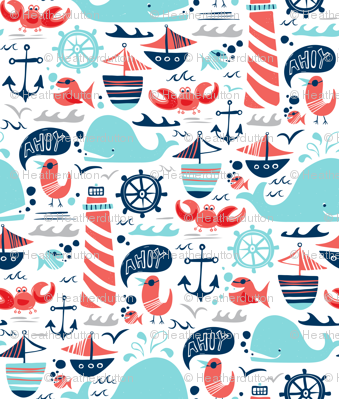 Ahoy Matey - Summer Nautical