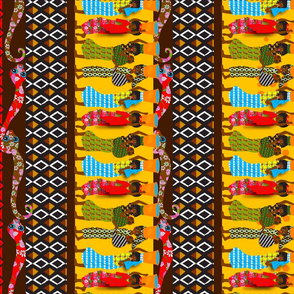 African Tea Towel