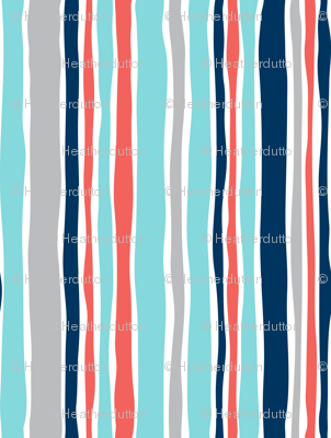 Swab The Deck - Nautical Stripe