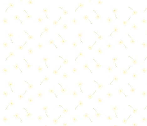 Citrus_Dandelion fabric by belle&bo on Spoonflower - custom fabric
