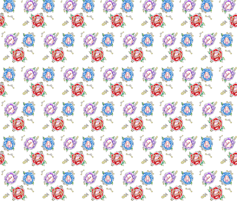 Don't be a Dickflower fabric by darnyarnmn on Spoonflower - custom fabric