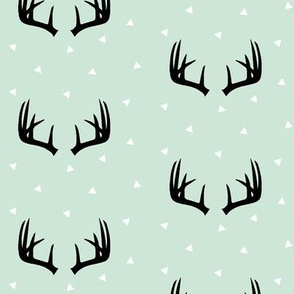 Antlers on Mint