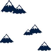 Mountains // Navy