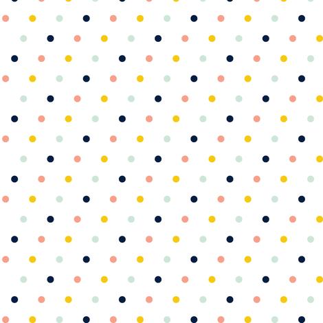 Multi Dot // SS16 fabric by littlearrowdesign on Spoonflower - custom fabric