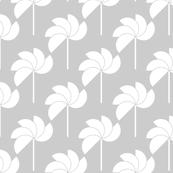 Pinwheels Grey