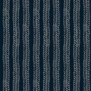 waving vine/blue-gray