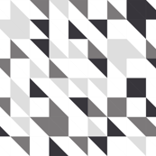 Wholecloth DIY Cheater Quilt Blanket    Grey Monochrome