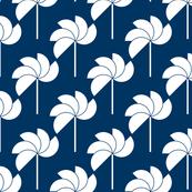 Pinwheels Navy