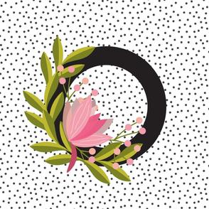 Garden Letters - Letter O